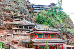 PINGAN, CHINA - Jul 9 2014: Shazong Ritod Monastery(Xiazongsi). Royalty Free Stock Photography