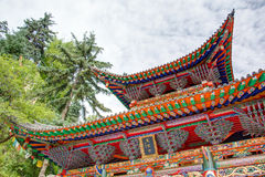PINGAN, CHINA - Jul 9 2014: Shazong Ritod Monastery(Xiazongsi). Royalty Free Stock Image