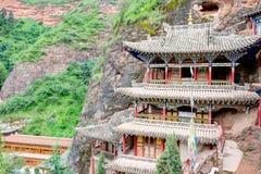 PINGAN, CHINA - Jul 9 2014: Shazong Ritod Monastery(Xiazongsi). Royalty Free Stock Photo