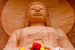 PINGAN, CHINA - Jul 9 2014: Shazong Ritod Monastery(Xiazongsi). Stock Image