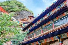 PINGAN, CHINA - Jul 9 2014: Shazong Ritod Monastery(Xiazongsi). Stock Images