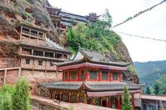 PINGAN, CHINA - Jul 9 2014: Shazong Ritod Monastery(Xiazongsi). Stock Photos