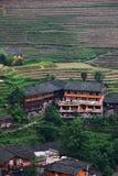 Pinganzhai-Dorf Stockfotografie