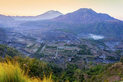 Pinggan hill top view Stock Image