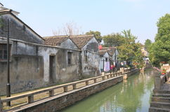 Pingjiang historical street cityscape Suzhou China Stock Image