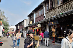 Pingjiang-Straße in Suzhou Lizenzfreie Stockfotografie