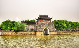 Pingmen Water Gate in Suzhou Royalty Free Stock Images