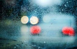 Pingos de chuva 1 Fotos de Stock Royalty Free
