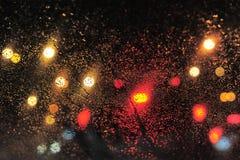 Pingos de chuva fotografia de stock royalty free
