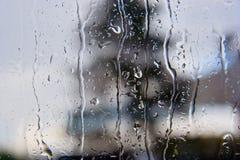 Pingos de chuva Foto de Stock Royalty Free