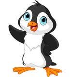 Pingouin de bande dessinée Image stock