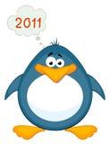 Pingouin de dessin animé Photos stock