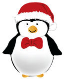 Pingouin de Noël Photo stock