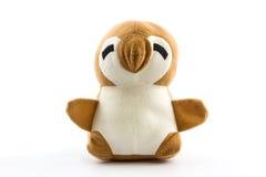 Pingouin de nounours de jouet. Photo stock