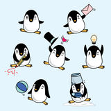 Pingouin heureux Photo stock