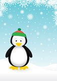 Pingouin mignon Photo stock