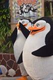 Pingouins du Madagascar image libre de droits