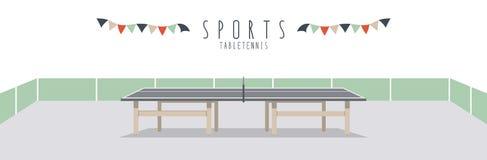 Pingpong (Sporten) Royalty-vrije Stock Foto's