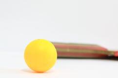 Pingpongbal Royalty-vrije Stock Fotografie