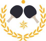 pingpongowi Paddles Zdjęcie Royalty Free