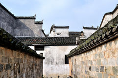 Pingshan village of ancient villages in China Royalty Free Stock Photos