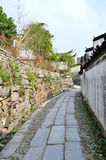 Pingshan village of ancient villages in China Stock Image