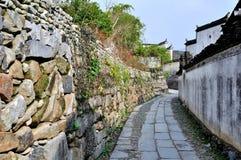 Pingshan wioska antyczne wioski w Chiny Zdjęcie Stock