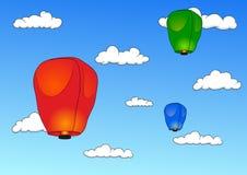 PingSi Lantern Stock Image