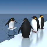 Pinguïnen vector illustratie