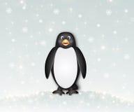 Pinguim agradável ilustração royalty free