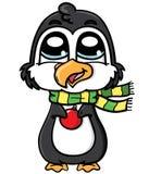 Pinguim bonito Imagens de Stock