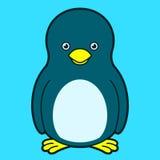 Pinguim bonito ilustração stock