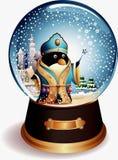 Pinguim do globo da água Fotos de Stock Royalty Free