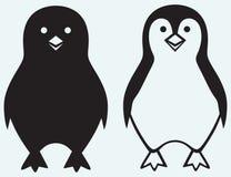 Pinguim dos desenhos animados Imagem de Stock Royalty Free