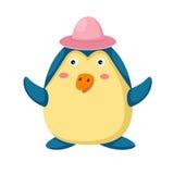Pinguim dos desenhos animados Fotografia de Stock Royalty Free