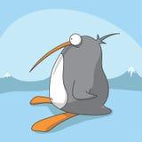 Pinguim dos desenhos animados do vetor Foto de Stock