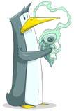 Pinguim engraçado Imagem de Stock Royalty Free