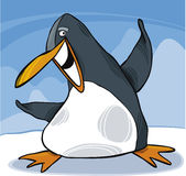 Pinguim feliz Imagem de Stock