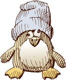 Pinguim pequeno ilustração do vetor