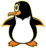 Pinguin 03 dos desenhos animados Imagens de Stock