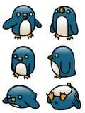 Pinguin-Satz Stockbild