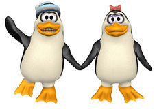 Pinguine Stockfotos