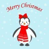 Pinguinikone Lizenzfreies Stockbild