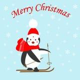 Pinguinikone Lizenzfreie Stockfotos