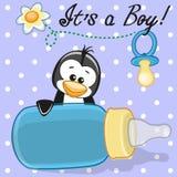 Pinguinjunge lizenzfreie abbildung
