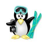 Vacationing del pinguino Fotografie Stock Libere da Diritti