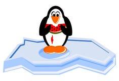 Pinguino del fumetto Fotografia Stock