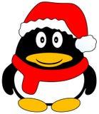 Pinguino di natale Fotografie Stock
