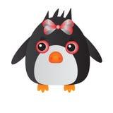 Pinguino rosso Immagini Stock