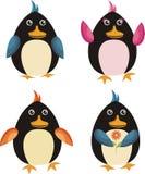 pinguins Fotografia Stock